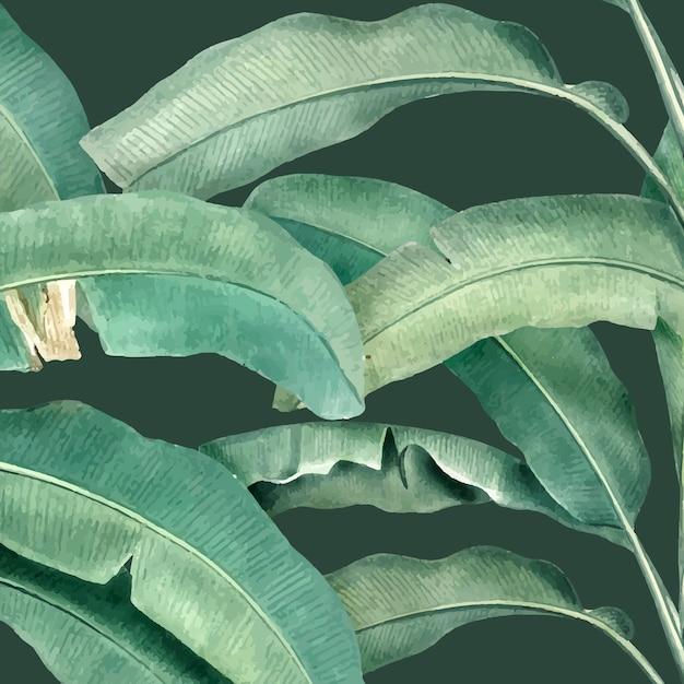 Ilustracja wzór lato tropikalne