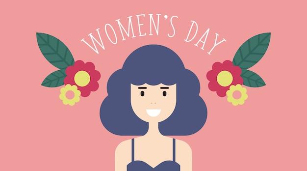 Ilustracja z 8 marca dnia kobiet