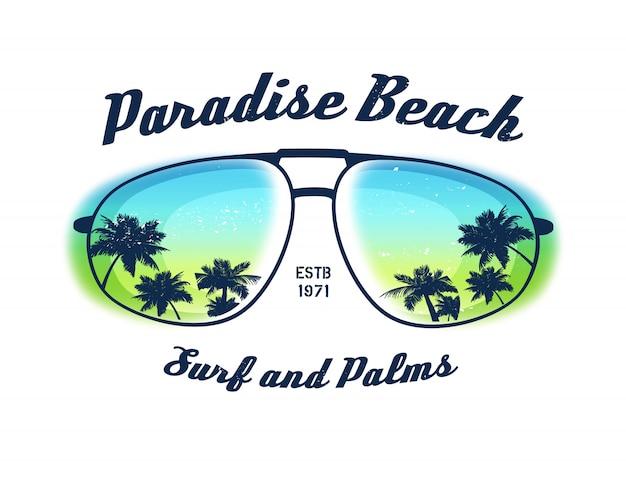 Ilustracja z amerykańskim rajem w okularach i grunge tekstur.