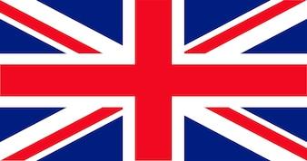 Ilustracja z banderą Wielkiej Brytanii