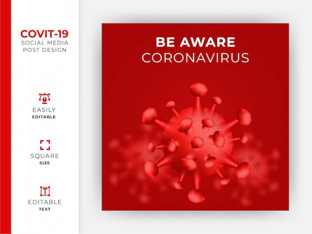 Ilustracja zapobiegania koronawirusowi