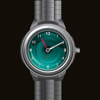Ilustracja zegarka ręcznego