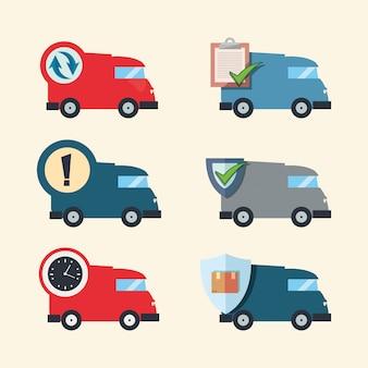 Ilustracja związana z szybką dostawą