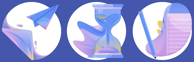 Ilustracje artystyczne z hologramem