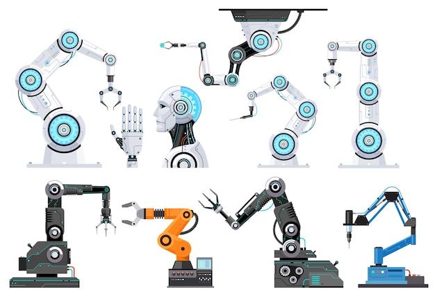 Ilustracje inżynierii robotów
