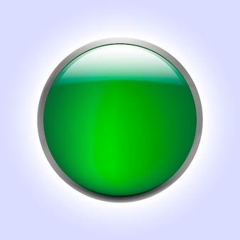 Ilustracje wektorowe błyszczące szklane przyciski