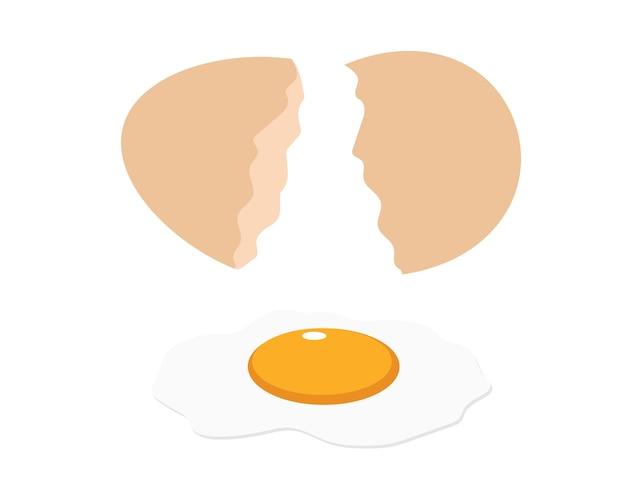 Ilustracji wektorowych jaj
