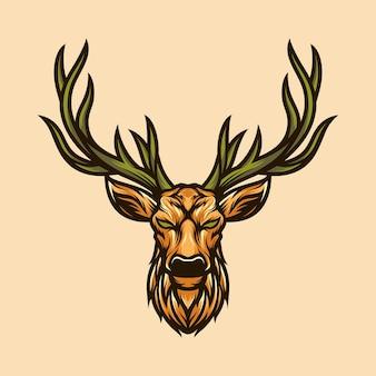 Ilustrator wektor jelenia