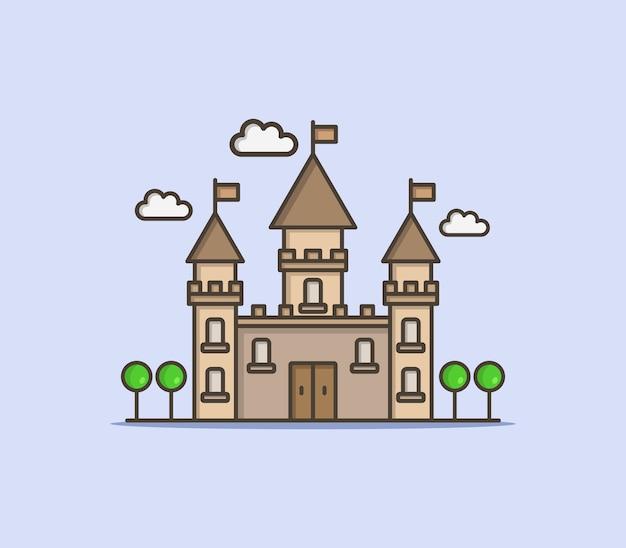 Ilustrowany zamek