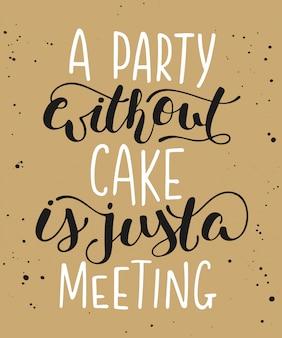 Impreza bez ciasta to tylko spotkanie