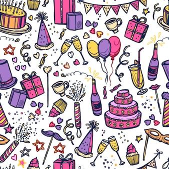 Impreza urodzinowa czas wzór