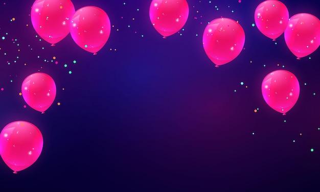 Imprezowe balony i konfetti