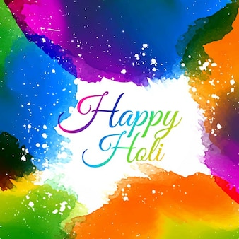 Indian holi festiwal kolorów
