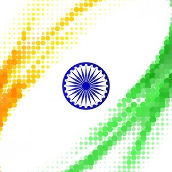 Indian w tle hafltones stylu