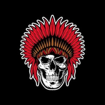 Indiańska czaszka