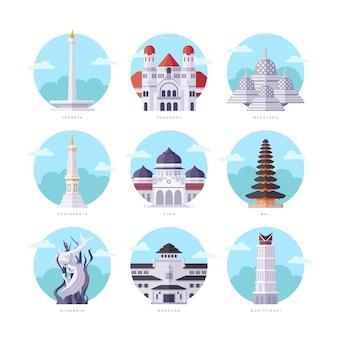 Indonezja zabytki mieszkanie