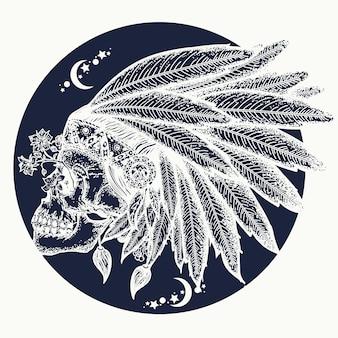 Indyjska czaszka