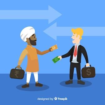 Indyjska wymiana waluty rupii