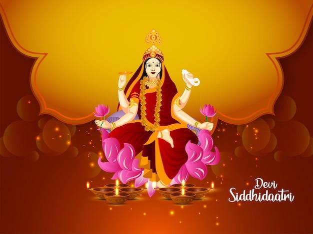 Indyjski festiwal szczęśliwy tło uroczystości durga puja