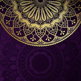 Indyjski mandali tło