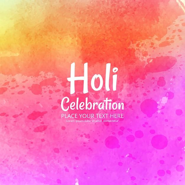Indyjskie święto happy holi uroczystości z kolorami
