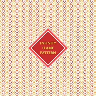 Infinity flame pattern bacground i tekstura