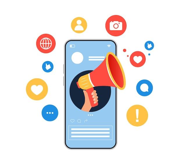 Influencer mediów społecznościowych social