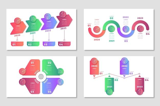 Infograficzny łańcuch dostaw
