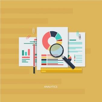 Infografika analityczne elements