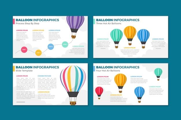 Infografika balon