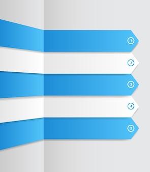 Infografika biznes szablon ilustracji wektorowych