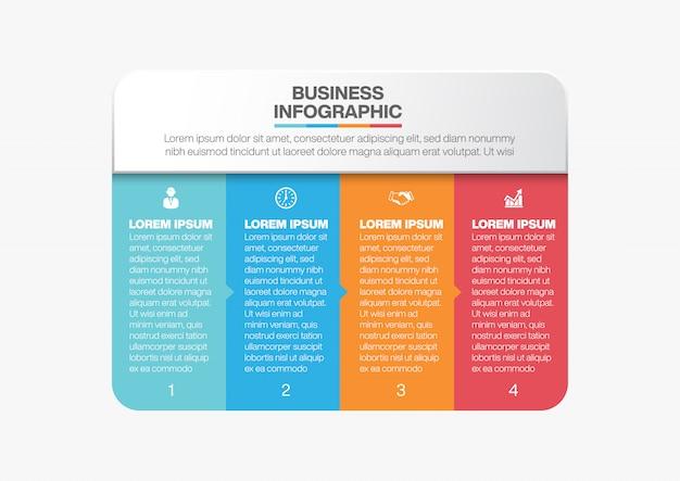 Infografika biznes szablon