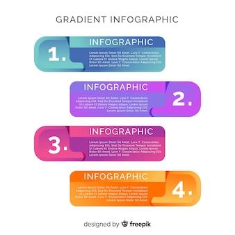 Infografika biznesowa w stylu okna dialogowego