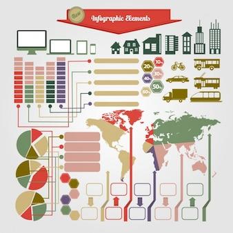 Infografika element collection