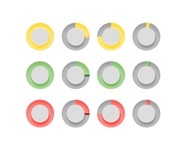 Infografika elementów wektor clipart