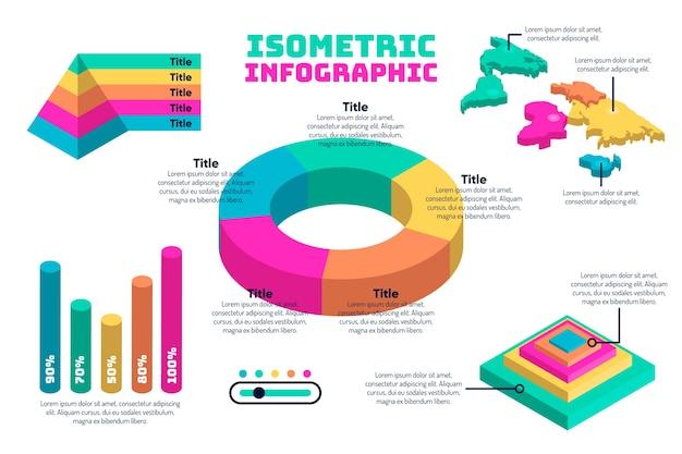 Infografika izometryczny