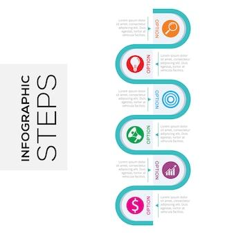 Infografika kroki