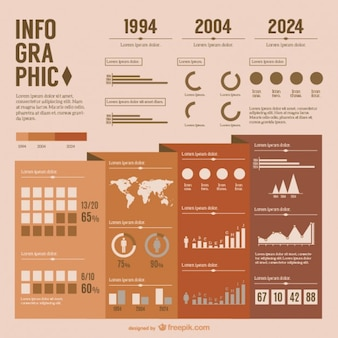Infografika prezentacja vector