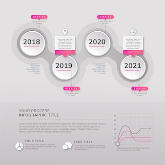 Infografika procesu projektowania płaskiego