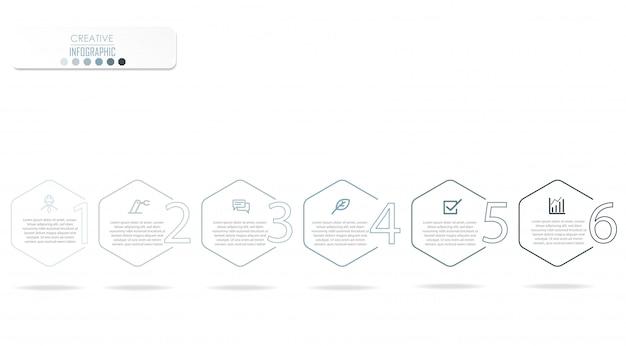 Infografika schemat projektu