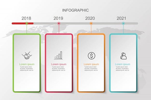 Infografika slajdów szablony do prezentacji biznesowych.