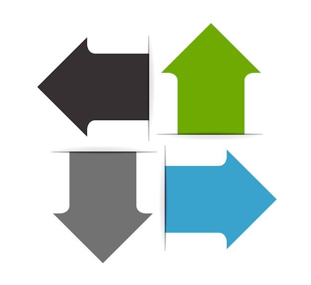 Infografika szablony dla biznesu ilustracji wektorowych.
