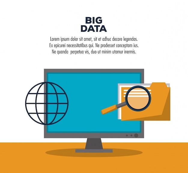 Infografika technologii big danych