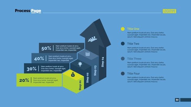 Infografika wzór szablonu