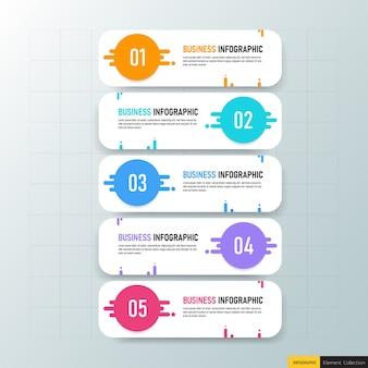 Infografiki biznesowe w pięciu krokach