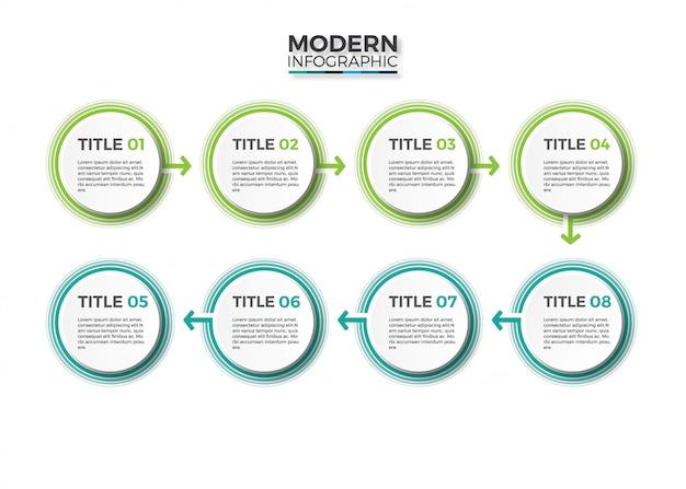 Infografiki biznesowe.