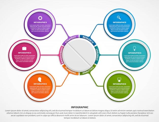 Infografiki dla medycyny.