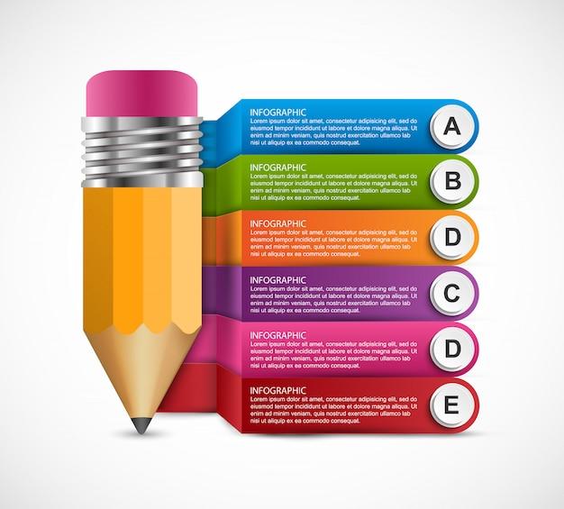 Infografiki do prezentacji biznesowych.