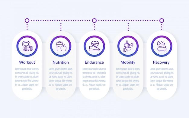 Infografiki fitness