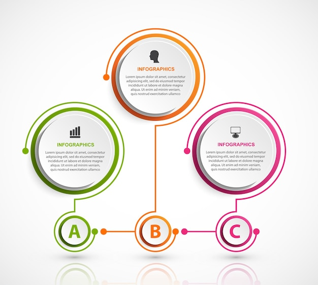 Infografiki lub baner informacyjny